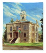 Columbia County Courthouse Fleece Blanket