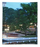 Columbia Lakefront Panorama Fleece Blanket