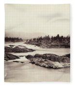 Columbia River: Kettle Falls Fleece Blanket