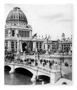 Columbian Expo, 1893 Fleece Blanket