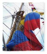 Columbian Mast Fleece Blanket