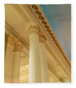 Columns To Heaven Fleece Blanket