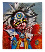 Comanche Dance Fleece Blanket