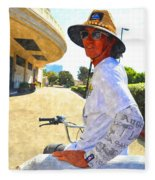 Come Ride With Me Fleece Blanket