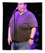 Comedian Ralphie May Fleece Blanket