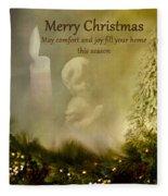 Comfort And Joy Fleece Blanket