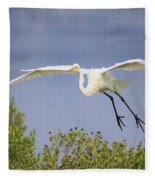Coming In For A Drink Fleece Blanket