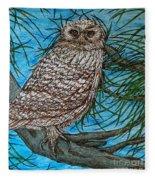 Coming Into Her Wisdom Fleece Blanket