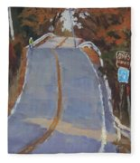 Coming Off Orr's Island - Art By Bill Tomsa Fleece Blanket