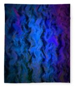 Coming Out Of The Dark Fleece Blanket
