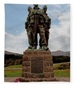Commando Memorial 2 Fleece Blanket