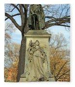 Commodore John Barry Monument Fleece Blanket