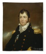 Commodore Oliver Hazard Perry Fleece Blanket
