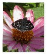 Common Checker Butterfly Fleece Blanket