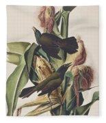 Common Crow Fleece Blanket