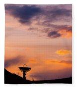 Communications To The Stars Fleece Blanket