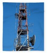 Communications Tower Fleece Blanket