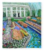 Como Park Conservatory  In St. Paul Fleece Blanket