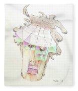 Compartment Man Fleece Blanket