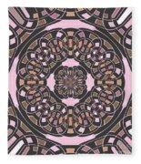 Complex Geometric Abstract Fleece Blanket