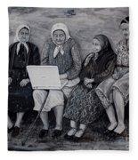 Computer Class Fleece Blanket