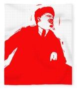 Comrade L Fleece Blanket