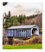 Comstock Bridge Montgomery Fleece Blanket