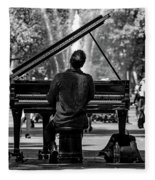 Concert In The Park Fleece Blanket