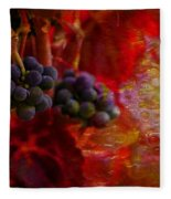 Concord Tendrils Fleece Blanket