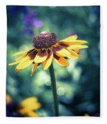 Cone Flower 2 Fleece Blanket
