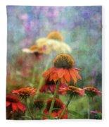 Coneflower Garden 2789 Idp_2 Fleece Blanket
