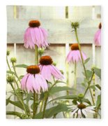 Coneflower Patch Fleece Blanket