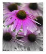 Coneflowers Fleece Blanket