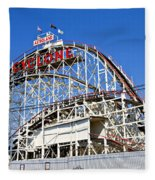 Coney Island Memories 2 Fleece Blanket