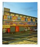 Coney Island Memories 4 Fleece Blanket