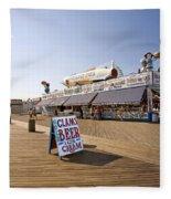 Coney Island Memories 7 Fleece Blanket