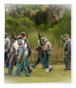 Confederate Advance Fleece Blanket