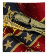 Confederate Sidearm Fleece Blanket