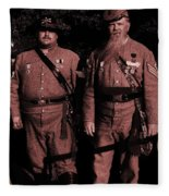 Confederate Tintype Civil War Fleece Blanket