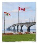 Confederation Bridge 5524  Fleece Blanket