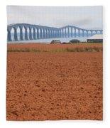Confederation Bridge 5531 Fleece Blanket