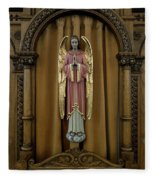 Confessional - Our Lady Of Lourdes Cathedral - Spokane Fleece Blanket