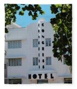 Congress Hotel Fleece Blanket