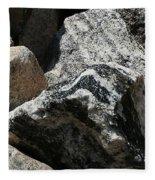 Connecticut Stones Fleece Blanket