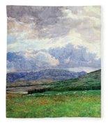 Connemara Mountains Fleece Blanket