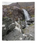 Connor Pass Waterfall Fleece Blanket