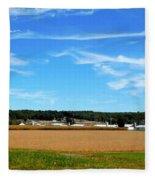 Conservation Farm 1 Fleece Blanket