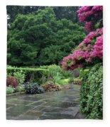 Conservatory Rain Fleece Blanket