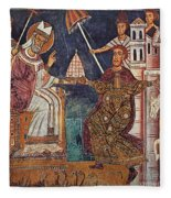 Constantine I (c280-337) Fleece Blanket