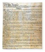 Constitution Fleece Blanket
